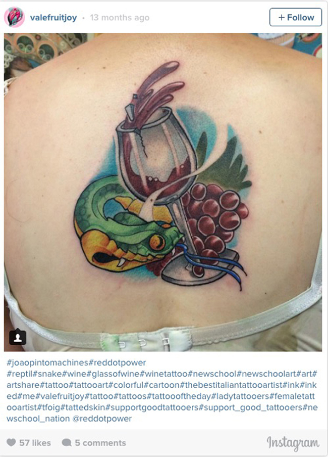 Wine tattoos. (6)