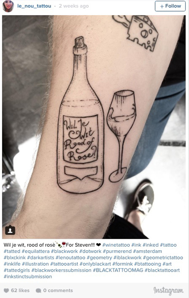 Wine tattoos. (4)