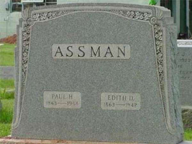 Funny names on tombstones pictures. (29)