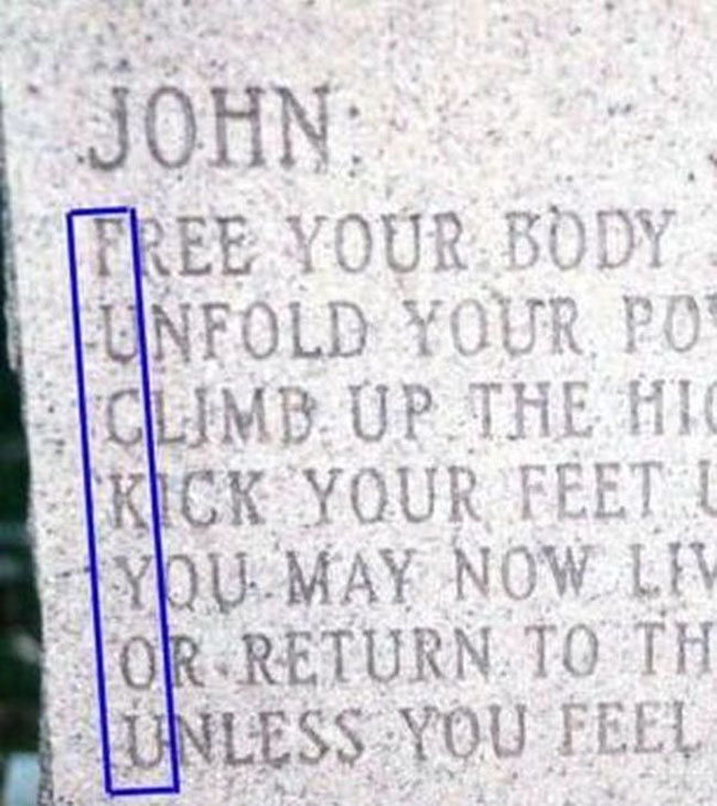 Funny names on tombstones pictures. (17)