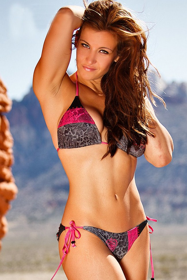 Miesha Tate Hottest Photos | Sexy Near-Nude Pictures, GIFs