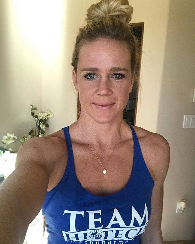 Holm  nackt Holly 41 Sexiest